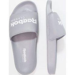 Reebok Classic CLASSIC SLIDE Klapki cool shadow/white. Szare klapki męskie marki Reebok Classic, z gumy, reebok classic. Za 129,00 zł.