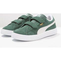 Puma CLASSIC Tenisówki i Trampki pineneedle/white. Zielone trampki chłopięce Puma, z materiału. Za 229,00 zł.