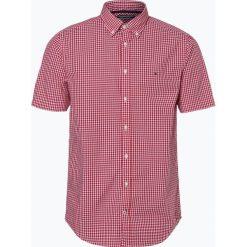 Tommy Hilfiger - Koszula męska, czerwony. Czerwone koszule męskie w kratę marki TOMMY HILFIGER, m, button down. Za 199,95 zł.