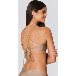 FAYT Góra od bikini Blaze - Beige. Brązowe bikini marki FAYT. Za 89,95 zł.