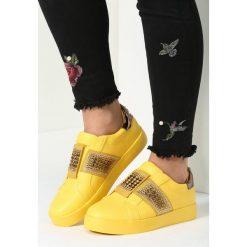 Żółte Buty Sportowe Move Around. Żółte buty sportowe damskie vices. Za 79,99 zł.