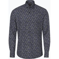 Olymp Level Five - Koszula męska łatwa w prasowaniu, niebieski. Niebieskie koszule męskie non-iron marki OLYMP Level Five, m, paisley, ze stójką. Za 179,95 zł.