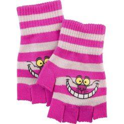Rękawiczki damskie: Alicja w Krainie Czarów Cheshire Cat Rękawiczki bez palców różowy