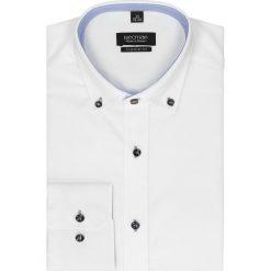 Koszula bexley 2421 długi rękaw custom fit biały. Czarne koszule męskie na spinki marki TOM TAILOR DENIM, l, z bawełny, button down, z długim rękawem. Za 139,00 zł.