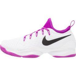 Buty sportowe damskie: Nike Performance AIR ZOOM ULTRA REACT HC Obuwie multicourt white/black/vivid purple