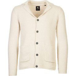 Swetry rozpinane męskie: Sweter rozpinany w kolorze beżowym