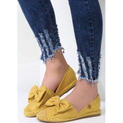 Espadryle damskie: Żółte Espadryle Step Out
