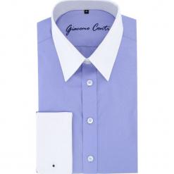 Koszula ARMANDO M slim 15-11-03. Białe koszule męskie Giacomo Conti, m, z bawełny, z klasycznym kołnierzykiem. Za 169,00 zł.