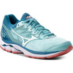 Buty MIZUNO - Wave Rider 21 J1GD180365 Niebieski. Niebieskie buty do biegania damskie marki Mizuno, z materiału, mizuno wave. W wyprzedaży za 399,00 zł.