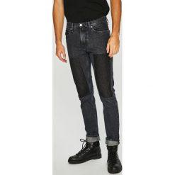 Calvin Klein Jeans - Jeansy CKJ 026. Czarne jeansy męskie slim Calvin Klein Jeans, z bawełny. Za 599,90 zł.
