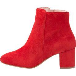 KIOMI Ankle boot red. Czerwone botki damskie skórzane marki KIOMI. Za 379,00 zł.
