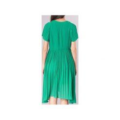 Sukienki krótkie See U Soon  8121119. Niebieskie sukienki mini marki See u Soon, s, z krótkim rękawem. Za 265,30 zł.