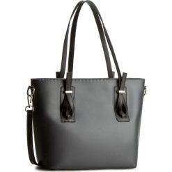 Torebka CREOLE - K10311 Grafitowy/Czarny. Szare torebki klasyczne damskie Creole, ze skóry, duże. W wyprzedaży za 209,00 zł.