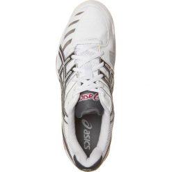 ASICS GELCHALLENGER 9 INDOOR Obuwie do tenisa Indoor white/charcoal/red. Czarne buty do tenisa męskie marki Asics. Za 399,00 zł.
