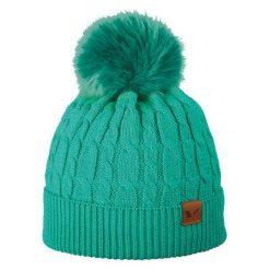 Czapka damska Iliana turkusowa (212/20/4859). Niebieskie czapki zimowe damskie marki Viking. Za 61,19 zł.