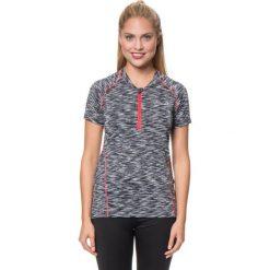 """T-shirty damskie: Koszulka kolarska """"Incisive"""" w kolorze czarno-białym"""
