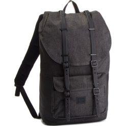 Plecak HERSCHEL - Lilamer 10014-02095 Blkx/B/W. Szare plecaki męskie Herschel, z materiału. W wyprzedaży za 399,00 zł.