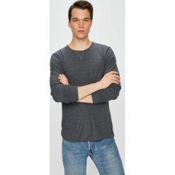 Selected - Sweter. Szare swetry klasyczne męskie marki Selected, l, z bawełny, z okrągłym kołnierzem. W wyprzedaży za 69,90 zł.