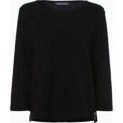 Bluzy damskie: Tommy Hilfiger - Damska bluza nierozpinana – Biona, czarny