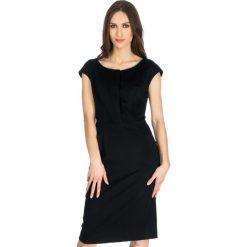 Odzież damska: Sukienka Deni Cler w kolorze czarnym