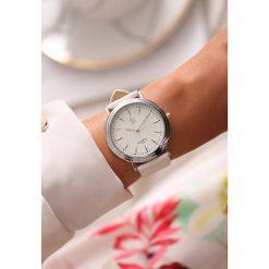 Biało-Srebrny Zegarek Timeless Power. Białe zegarki damskie other, srebrne. Za 29,99 zł.