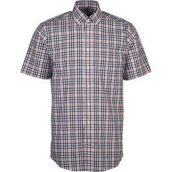 Koszule męskie na spinki: Koszula – Modern fit – w kolorze biało-niebiesko-pomarańczowym