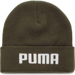 Czapka PUMA - Mid Fit Beanie 021708 04 Forest Night. Zielone czapki męskie Puma, z materiału. Za 69,00 zł.