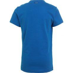 Napapijri SOLEX Tshirt z nadrukiem tourquoise. Szare t-shirty chłopięce z nadrukiem marki Napapijri, l, z materiału, z kapturem. Za 129,00 zł.