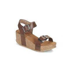 Sandały LPB Shoes  NEPAL. Brązowe rzymianki damskie LPB Shoes. Za 175,20 zł.