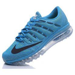 Buty sportowe męskie: Nike Buty męskie Air Max 2016 niebieskie r. 44 (806771-400)