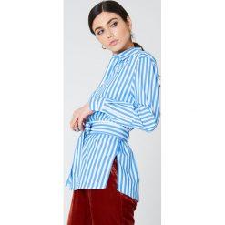 Koszule wiązane damskie: Samsoe & Samsoe Koszula Dayne – Blue,Multicolor
