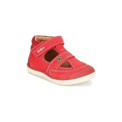 Sandały Dziecko  Kickers  GOODSPEED. Czerwone sandały chłopięce Kickers. Za 231,20 zł.