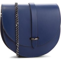 Torebka CREOLE - K10559  Granat. Niebieskie torebki klasyczne damskie Creole, ze skóry, zdobione. Za 129,00 zł.