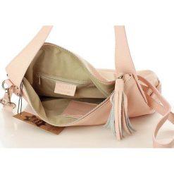 AMANDA - skórzana wygodna torebka Róż. Czerwone torebki klasyczne damskie marki Reserved, duże. Za 249,00 zł.