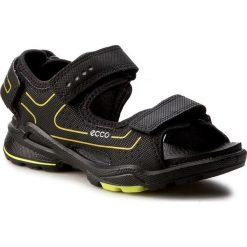 Sandały ECCO - Biom Sandal 70359251052 Black/Black. Czarne sandały męskie skórzane ecco. Za 299,90 zł.