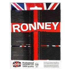 Ronney Profesjonalne wsuwki do włosów na karcie długie z kulkami, czarne proste 100 szt. Czarne ozdoby do włosów Ronney. Za 5,54 zł.