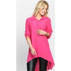 Fuksjowa Koszula Leave Your Lover. Różowe koszule damskie Born2be, na lato, s. Za 59,99 zł.