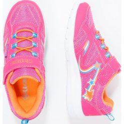 Kappa COSMIC  Obuwie treningowe pink/orange. Szare buty sportowe dziewczęce marki Kappa, z gumy. Za 129,00 zł.