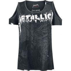 Metallica EMP Signature Collection Koszulka damska ciemnoszary. Szare bluzki asymetryczne Metallica, m, z aplikacjami, vintage, z dekoltem na plecach. Za 144,90 zł.