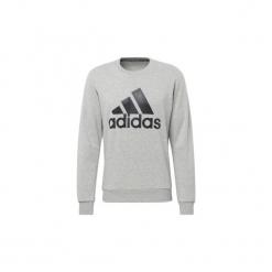 Bluzy adidas  Bluza z zaokrąglonym dekoltem Must Haves Badge of Sport. Szare bluzy męskie rozpinane Adidas, l. Za 229,00 zł.
