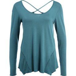 PrAna SASHA  Bluzka z długim rękawem deep balsam. Zielone bluzki longsleeves PrAna, m, z elastanu, sportowe. W wyprzedaży za 208,45 zł.