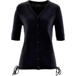 Sweter rozpinany bonprix czarny. Szare kardigany damskie marki Reserved, l. Za 74,99 zł.