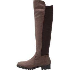 Anna Field Muszkieterki taupe. Brązowe buty zimowe damskie marki Anna Field, z materiału. W wyprzedaży za 167,20 zł.