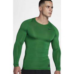 Nike Koszulka męska Pro Combat Cool Compression LS zielona r. S (703088 302). Zielone t-shirty męskie Nike, m. Za 104,50 zł.