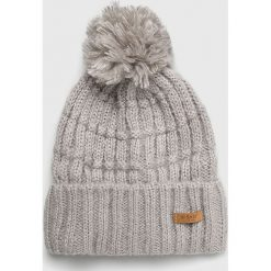 Barts - Czapka. Szare czapki zimowe damskie marki Barts, na zimę, z dzianiny. Za 99,90 zł.
