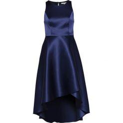 Mint&berry Długa sukienka navy blazer. Niebieskie długie sukienki marki mint&berry, z materiału, z długim rękawem. Za 419,00 zł.