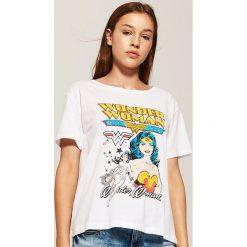 T-shirt Wonder Woman - Biały. Białe t-shirty damskie House, l. Za 29,99 zł.