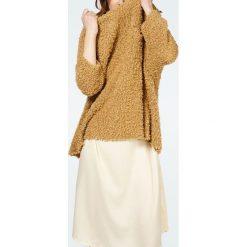 """Swetry klasyczne damskie: Sweter """"Anoush"""" w kolorze jasnobrązowym"""