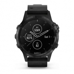 ZEGAREK GARMIN Fenix 5. Czarne zegarki męskie Garmin. Za 4730,00 zł.