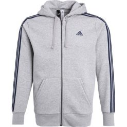 Bluzy męskie: adidas Performance Bluza rozpinana medium grey heather/conavy
